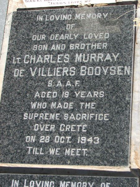 Charles Booysen