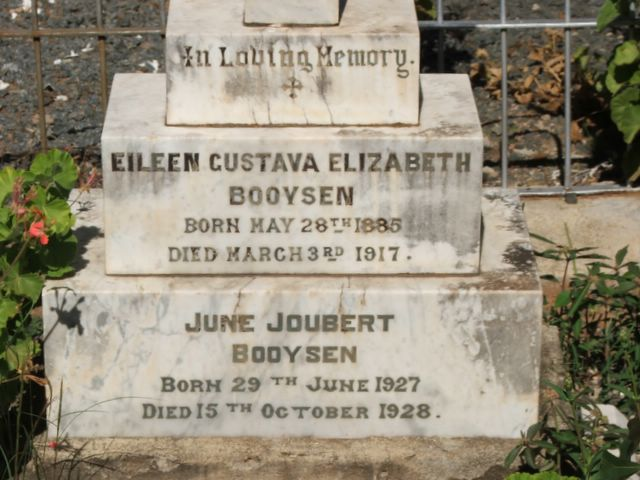 June and Eileen Booysen