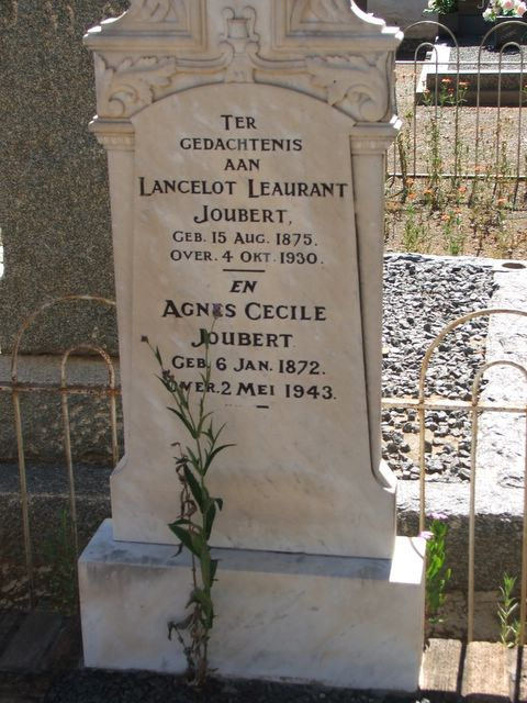 Lance and Agnes Joubert