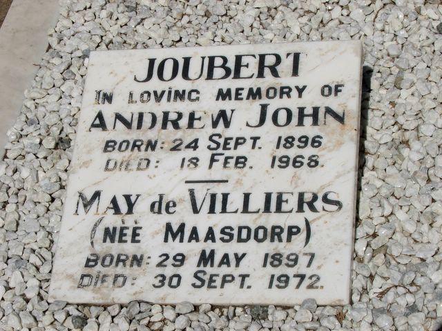 Andrew and May Joubert