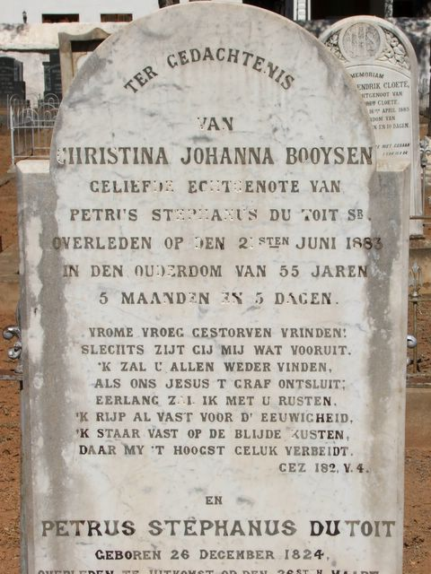 Petrus and Christina du Toit